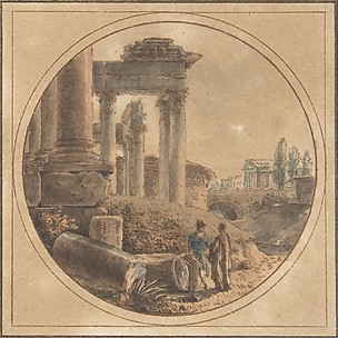 Fantasy View of the Roman Forum