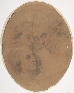 George Montagu, 4th Duke of Manchester (1737-1788), William, 2nd Viscount Courtenay, de jure 8th Earl of Devon (1742-1788), and George William, 6th Earl of Coventry (1722-1809)