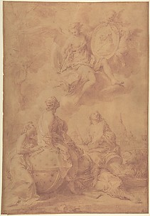 Allegory in Honor of Pope Benedict XIV