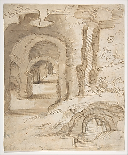 Landscape with Catacombs