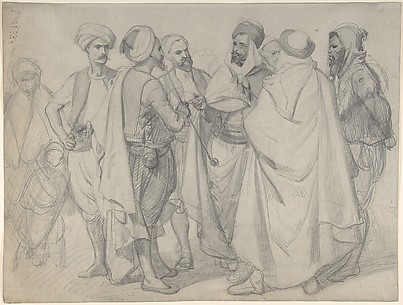 Study for 'Types de races algériennes'