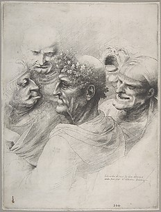 Five Grotesque Heads