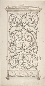 Design for Back of a Sedan Chair