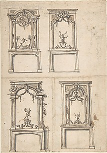 Designs for Overmantles