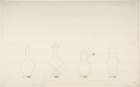 Design for Four Vases