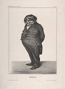 Clément-François-Victor-Gabriel Prunelle, published in La Caricature no. 138, June 27, 1833