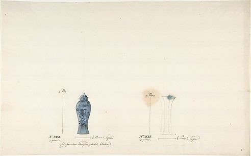 Design for Two Vases