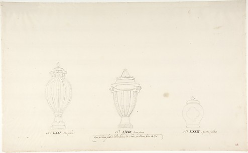 Design for Three Vases