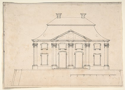Architectural Design for Exterior of City House