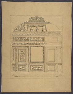 Boiserie from the Hôtel Colbert de Villacerf