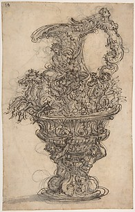 Design for a Bronze Ewer.