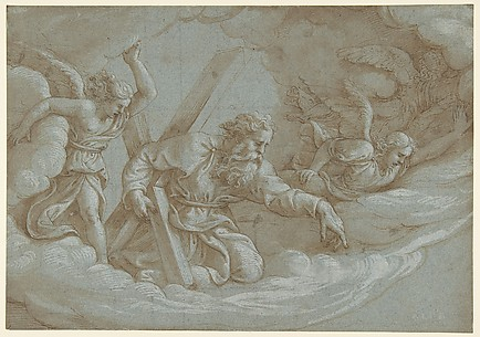 Apparition of Saint Andrew in Glory