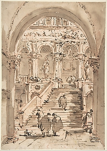 The Staircase of the Giants, Ducal Palace, Venice