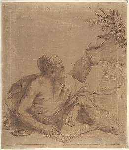 Saint Jerome Writing