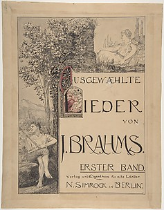 Design for a Title Page for Sheet Music