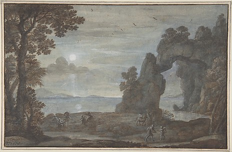 Coast View with Perseus and the Origin of Coral