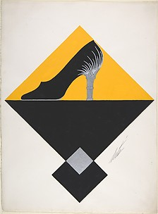 Shoe Design for Delman's Shoes, New York