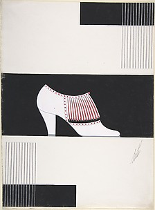 Shoe Design for Delman&#39;s Shoes, New York
