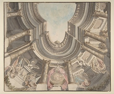 Design for a Trompe L'Oeil Ceiling