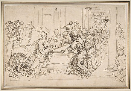 Penitent Woman Anointing the Feet of Christ at the Table of Simon the Pharisee