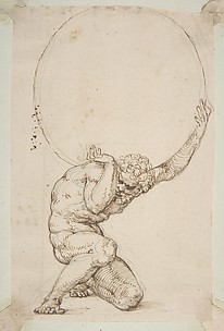 Crouching Figure of Atlas