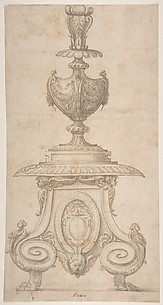Design for an Altar Candlestick