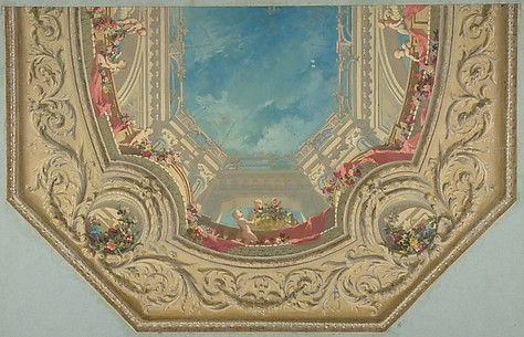 Design for Octagonal Ceiling in the Pless House, Berlin