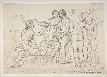 Judgment of Paris, after Raphael