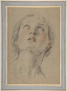 The Head of a Woman Looking Up (Judith).