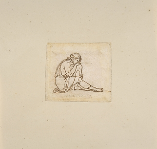 A Seated Youth