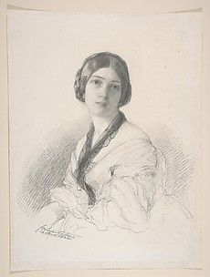 Portrait of Baroness Gudin, ne Margareth Louis Hay