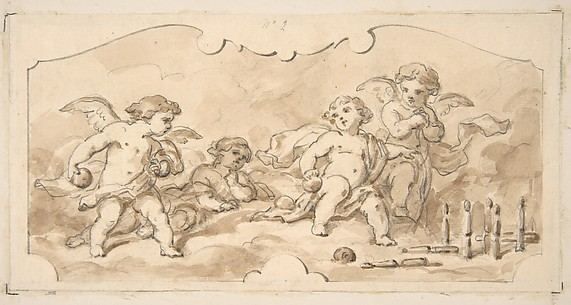 Putti at play