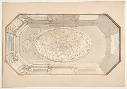 Design for a coiffered ceiling