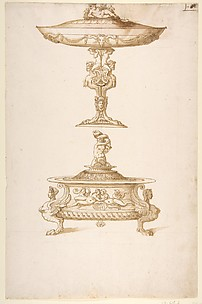 Design for a Salt Cellar and Tazza