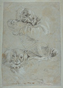 Three Dogs, after Paolo Veronese
