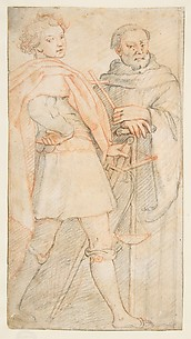 Saint Michael and Saint Bernardo degli Alberti, copy after Andrea del Sarto
