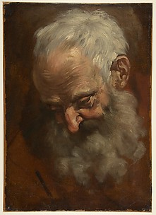 Head of a Bearded Man (Nicodemus)