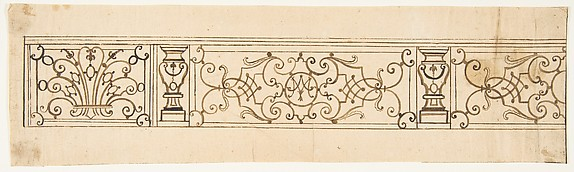 Design for an Iron Railing