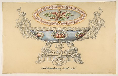Design for a Porcelain Cup