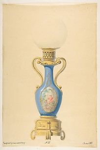 Design for an Oil Lamp