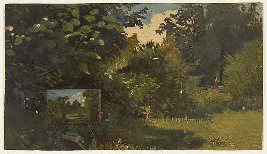 Landscape with an Easel