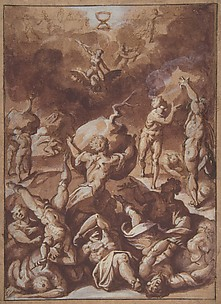 Jupiter Fighting the Giants.