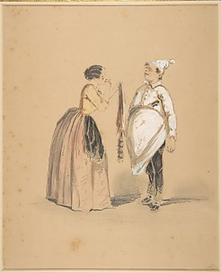 A Lady and Her Cook