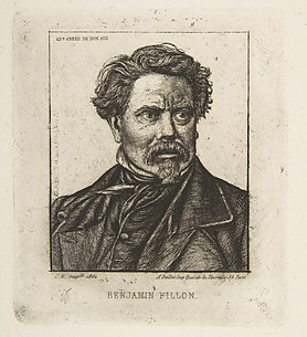 Benjamin Fillon, after a photograph