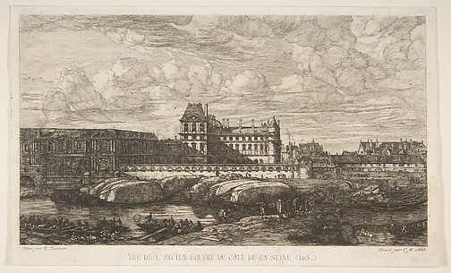 The Old Louvre, Paris, after Zeeman