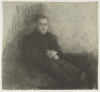 Seated Male Figure with Folded Hands