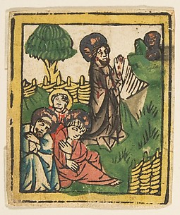 Christ on the Mount of Olives (Schr. 205a)