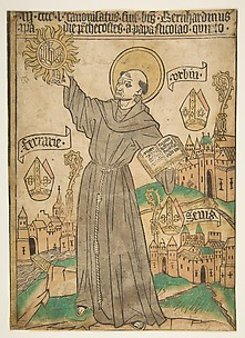 Saint Bernardino of Siena