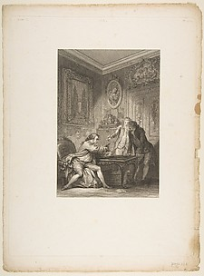 La Coupe Enchantee, from Contes et nouvelles en vers par Jean de La Fontaine.  A Paris, de l&#39;imprimerie de  P. Didot, l&#39;an III de la Rpublique, 1795