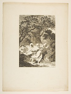 La Clochette, from Contes et nouvelles en vers par Jean de La Fontaine.  A Paris, de l&#39;imprimerie de  P. Didot, l&#39;an III de la Rpublique, 1795